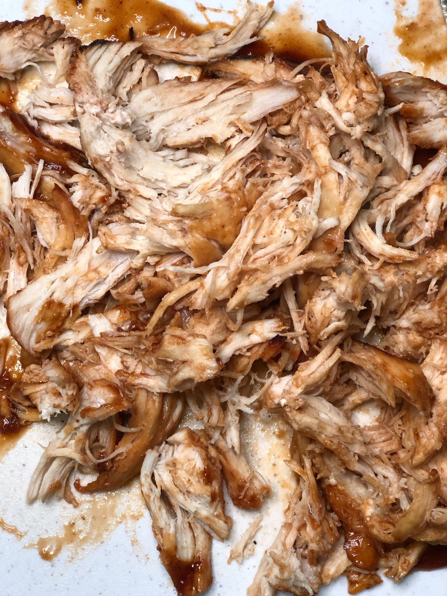 Instant Pot Shredded BBQ Chicken Recipe