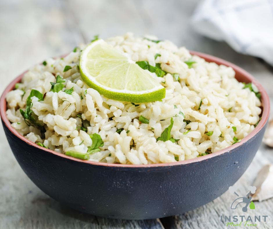 Instant Pot Cilantro Lime Rice - Chipotle Copycat